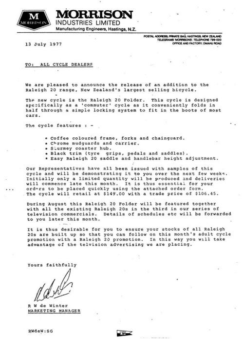 Morrison letter