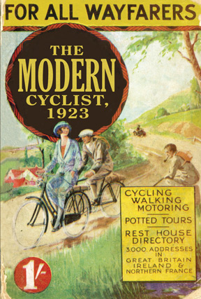 The Modern Cyclist, 1923, by Kuklos, reprinted by Shire books.