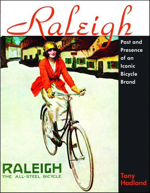 Front cover dust jacket of 'Raleigh' by Tony Hadland