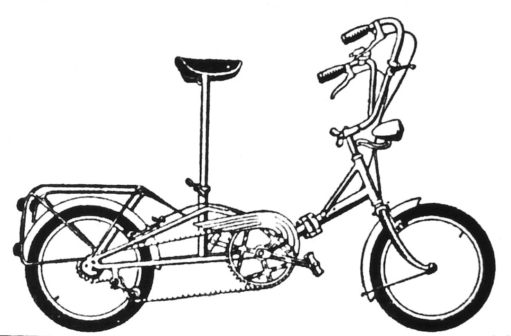 The later version of Le Petit, which featured a hinged frame