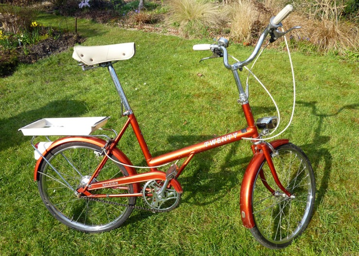 A general view of the 1974 Raleigh 20 FE